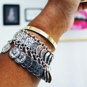 Jewelry | Boho coin dangle bracelet anklet